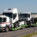 High Heavy LKW transport